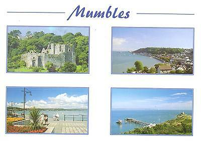 Mumbles - Wales - Multiview - Postcard