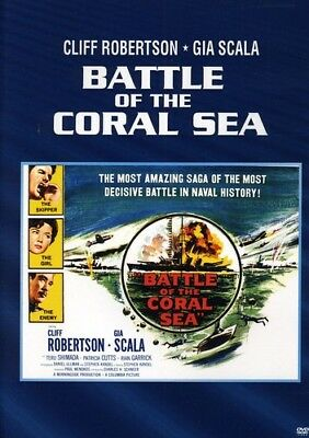 Battle of the Coral Sea [New DVD] Manufactured On Demand, Black & White