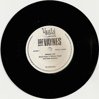 "The Vaynes  Midnight Gun - 1-sided 7""  / Sisters of Mercy"