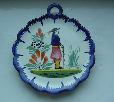 French pottery QUIMPER plate