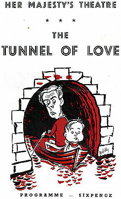 Theatre Programme. Her Majesty's THE TUNNEL OF LOVE Dec 1957