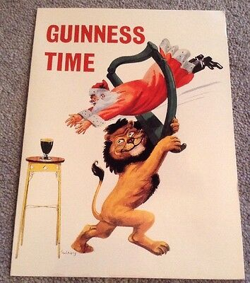 Old Guinness Time Christmas Card