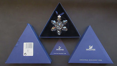 Swarovskis' Annual Edition Christmas Star, 2008, with Boxes and Certificate.