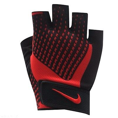Nike Mens Training Gym Elite Gym Core Lock 2.0 Weight Lifting Gloves Boxed New S