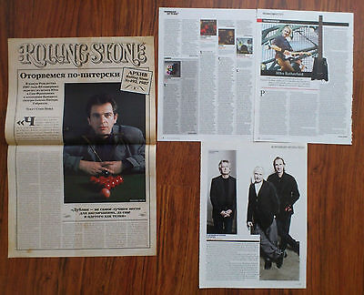 GENESIS - Peter Gabriel, Mike Rutherford, Phil Collins Articles Clippings