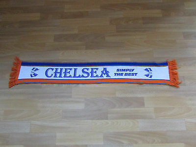 Earlier Style CHELSEA Simply the Best FOOTBALL Scarf