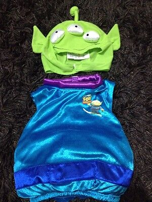 12-18 Months Marks And Spencer Boy Or Girl You Story Alien Costume Christmas