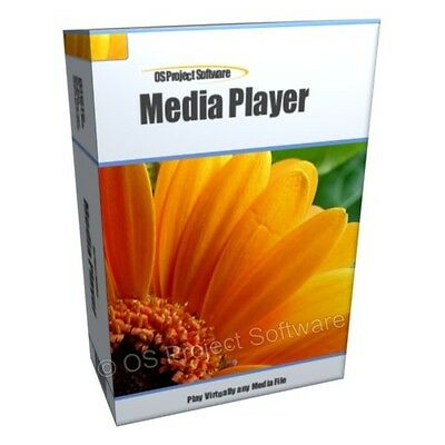 Media Player Play DVD AVI MP3 Video on your Computer Software for Windows XP 7