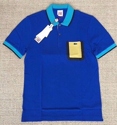 LACOSTE LIVE Polo homme collector extra slim fit T.4 S/M NEUF