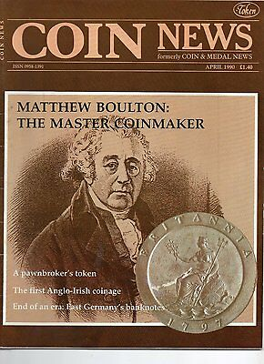 coin news magazine april 1990