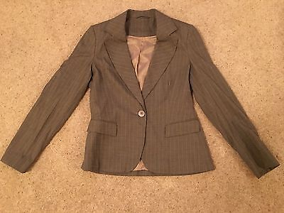 Brown Suit. Jacket And Trousers. Size 8