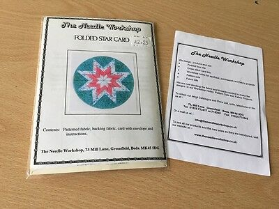 fabric card Circle design and card blanks