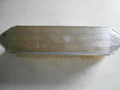 Vintage Broadway & Co Silver Clothes Brush 1963