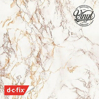 67cm Cortes Brown Marble Sticky Vinyl Fablon (280-8113) from 1 to 15 metre