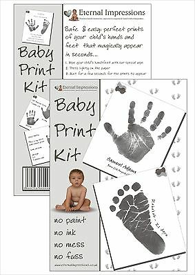 Inkless Hand And Foot Baby Print Kit - With Free £5.00 Gift Voucher