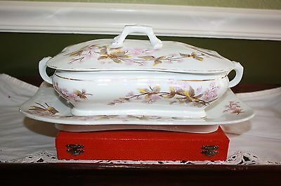 Carlsbad Austria Marx & Gutherz Covered Vegetable Dish