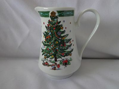 China Pitcher  Christmas in the park
