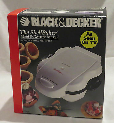 NEW ShellBaker Meal & Dessert Maker Black & Decker G400 NIB