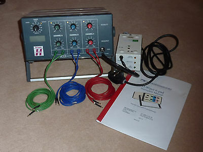 Evimed H-Wave muscle stimulator, H wave electrotherapy unit