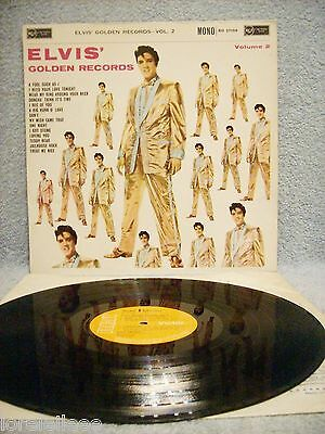 "Elvis  "" Golden Records -Vol.2 ""  Rca Victor Mono Fully Laminated Rd 27159 - Ex"