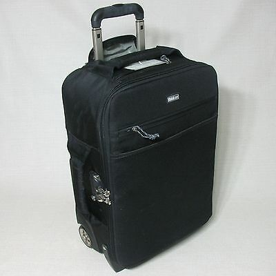 Think Tank Photo Airport International Security Black Wheeled Carry On Bag