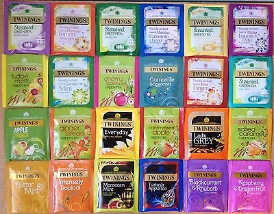 Twinings 24 Enveloped Assorted Different Flavoured Mixed Tea Bag Sachets-ASMT #8
