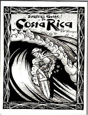 Surfer's guide to Costa Rica & Nicaragua 6th Edition Mike Parise Maps Guides inf