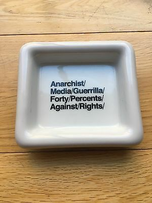 Fpar Forty Percent Against Rights Small Ashtray Wtaps Tet Made In Japan New