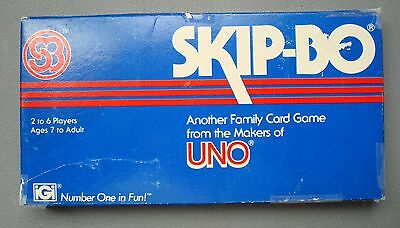 Vintage 1982 Skip-Bo Card Game -  Complete - Free Domestic Shipping!