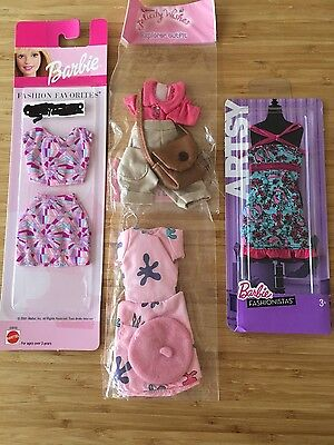 Barbie Clothes�� 4 Brand New Outfits ⭐️ In packaging Ideal Xmas Present!