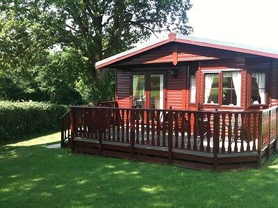 "Chalet Lodge Holiday Home Nr Welshpool ""Consider Part Exchange For Caravan"""