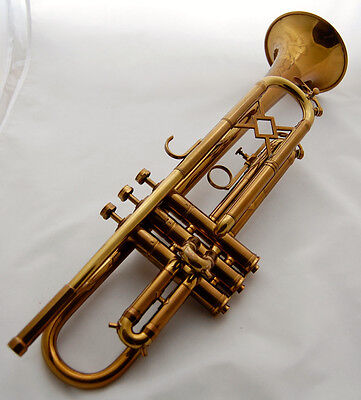Beautiful 1942 King Liberty Trumpet - Art Deco Design