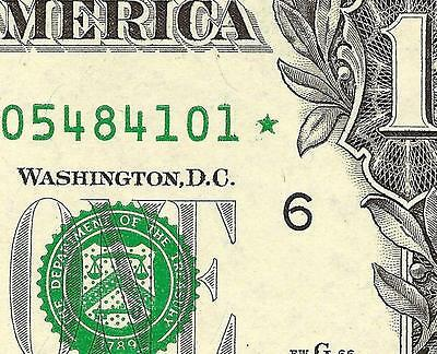 2009 1$ Solid Overinked Star Error Uncirculated