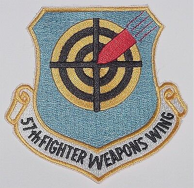 Aufnäher Patch US Air Force 57th Fighter Weapons Wing .........A2496