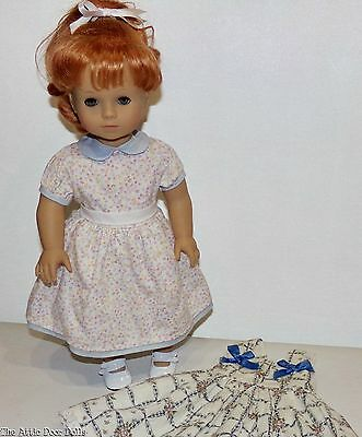 """Gotz Precious Day 18"""" Doll with 2 Outfits"""
