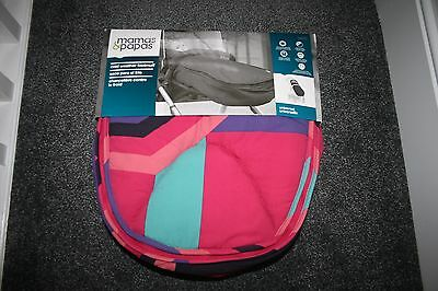 Mamas and Papas Cold Weather universal Footmuff - Pink Delphic Brand new in box