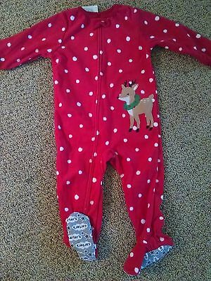 Girls Size 18 months clothes. Christmas pajamas. Carters  NEW