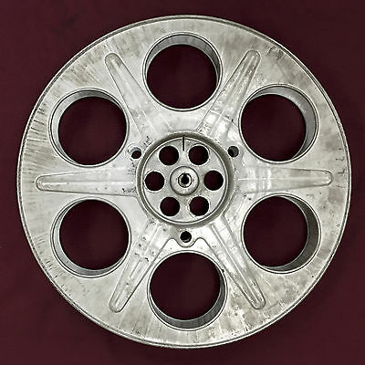 One 2000' 35mm Vintage Metal Film Print Reel, 14.5 inches