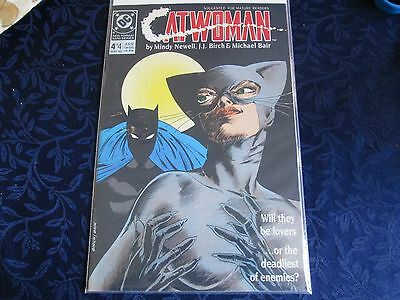 1989 DC Catwoman #4 of 4 Comic Book