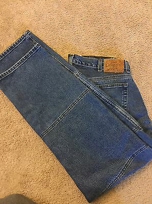 Draggin Kevlar Lined Motorcycle Jeans Waist 36 X 32 Relaxed Fit