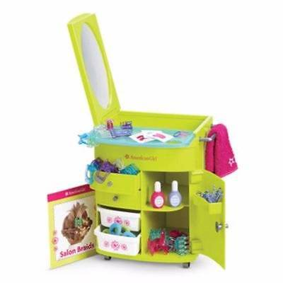 New American Girl SALON STYLIST CENTER CADDY~Hairstyling Accessories~Nail Supply