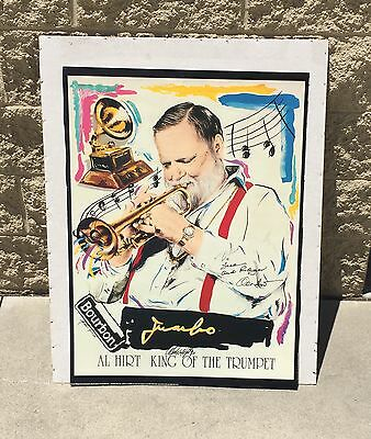1994 Al Hirt King Of The Trumpet Autographed New Orleans Jazz Poster