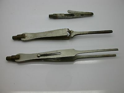 Three tools to assist as a third hand for delicate work watchmaker repair - 4EE