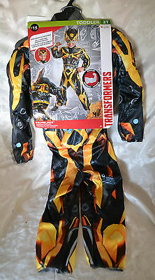 Bumble Bee Transformers Costume ~ Costume ~Toddler 2T ~ New
