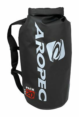 Aropec Shoal-20 20L Dry Bag with Roll Top Black
