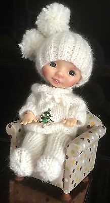 OOAK cashmere outfit for Ellabella, Olivia by Nikki Britt