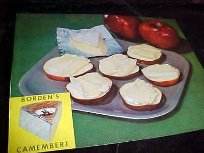 """Nice 8"""" X 10"""" Professional Photograph Of Borden's Camembert Cheese"""