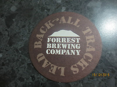 1 only FORREST BREWERY,Victoria , BEER COASTER  1 /sided issue