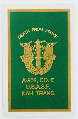 Wartime Special Forces Playing Card (Jack), A-502