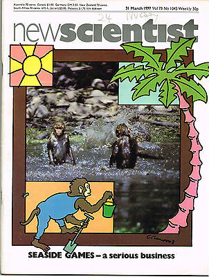 New Scientist Magazine 31 Mar 1977 Seaside Games: A Serious Business
